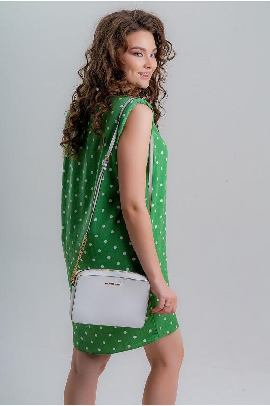 Платье в мелкий горошек