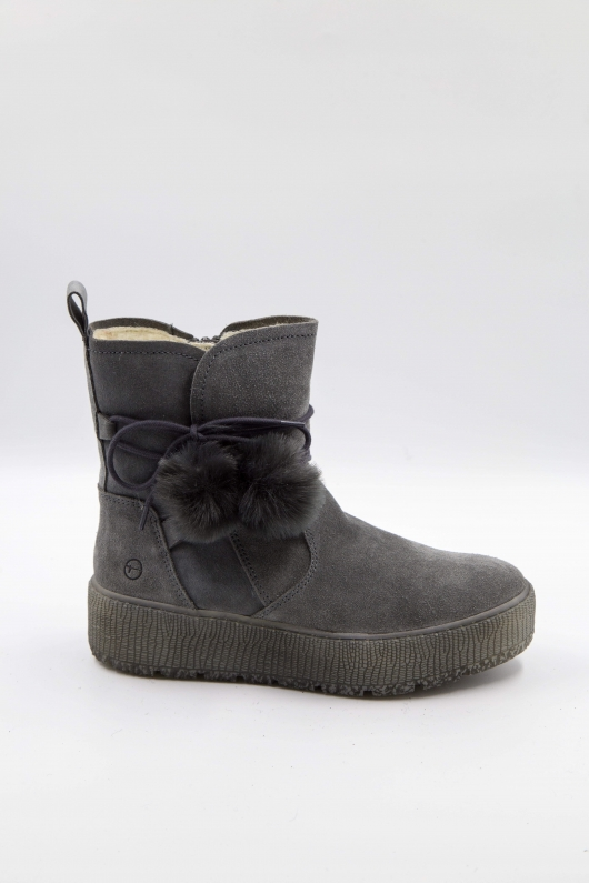 Ботинки с декоративным шнурком
