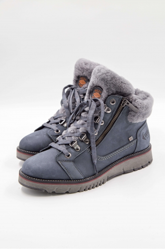 Ботинки нубук
