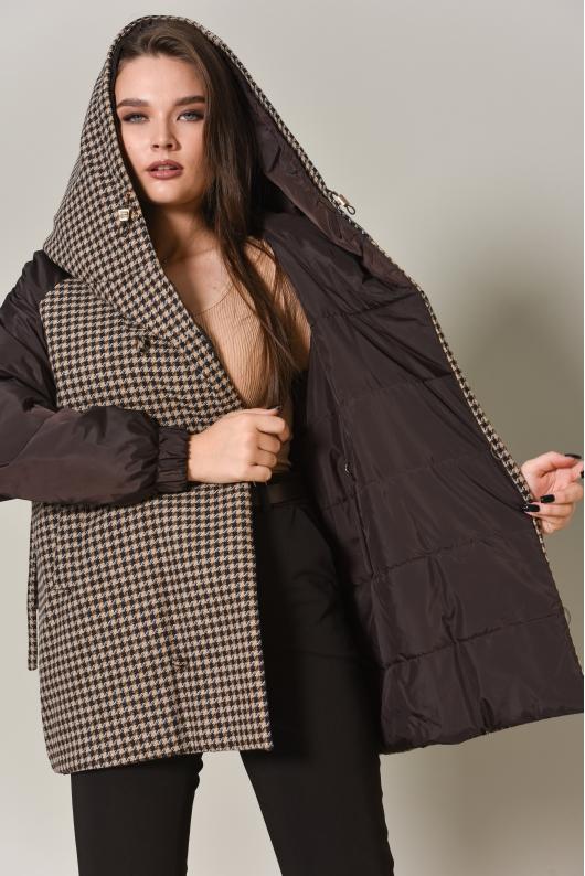 Куртка двусторонняя, комбинированная